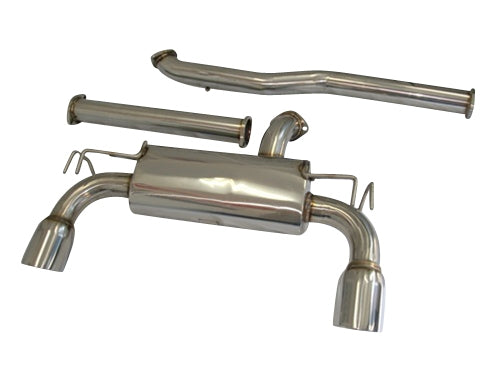CNT Racing Version RS 08-13 Mitsubishi EVO X catback Exhaust system - CNT Racing