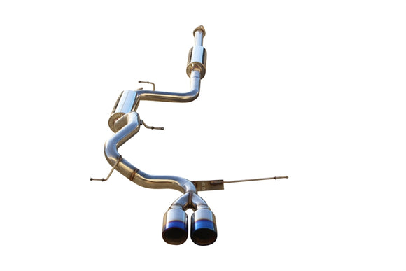 CNT V2 Racing catback exhaust for  2013-2016 Ford Focus ST W/Blue Tips - CNT Racing