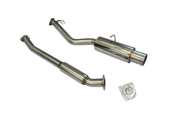 CNT Racing Version RS Hyundai Genesis 2.0T Catback Exhaust 3 inch Piping Single Outlet PolishTip - CNT Racing