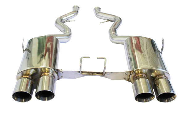 CNT Racing Race Series 08-13  BMW M3 Coupe Catback Exhaust - CNT Racing