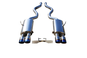 CNT Racing Race Series 08-13  BMW M3 Coupe Catback Exhaust with blue tips - CNT Racing