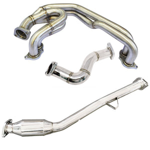 CNT Racing Unequal Length Header w/ Catless Front Pipe & Over Pipe for BRZ / FR-S / GT86 - CNT Racing
