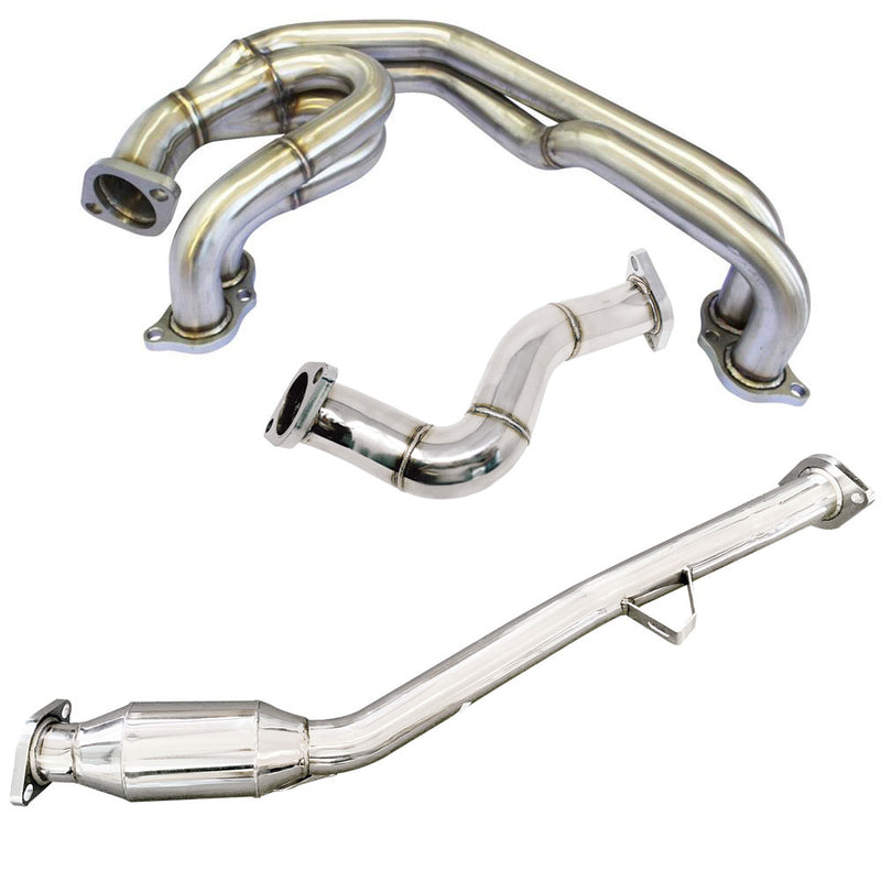 CNT Racing Unequal Length Header w/ Catted Front Pipe & Over Pipe for BRZ / FR-S / GT86 - CNT Racing