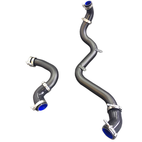 CNT Racing Ford Focus RS boost pipe / intercooler pipe 2 1/2 inches wrinkle black - CNT Racing