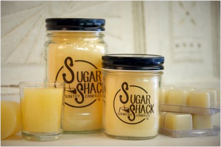 Sugar Shack  8oz Candle