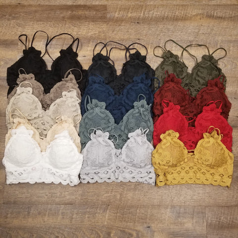 Bralette Lace~Scalloped