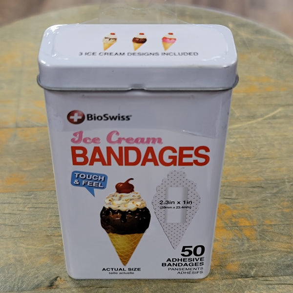 BioSwiss Kids Fun Bandages 50ct Tin