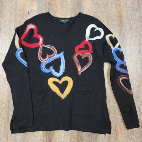 Charlie B. Heart Sweater