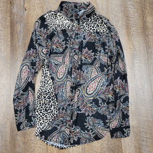 Charlie B. Leopard/Paisley Top