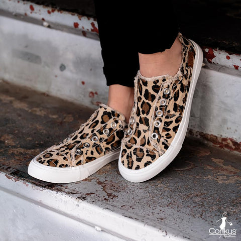 Boutique by Corky's Leopard Babalu Slip-On