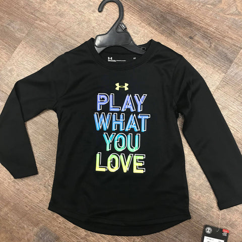 UA: Girls Play What You Love Shirt
