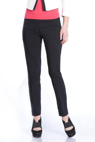 Slim Sation Black Ankle Pant
