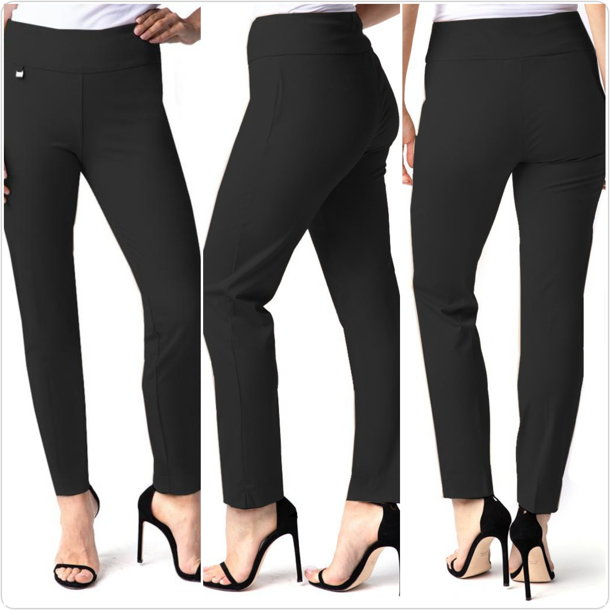 Multiples Slim Sation Easy Fit Ankle Pant