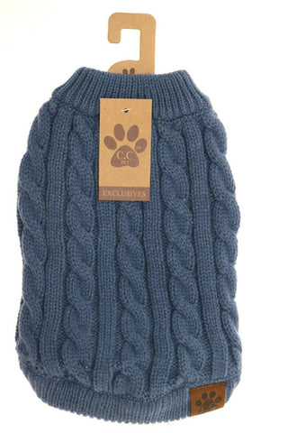 C.C Beanie: Pet Sweater