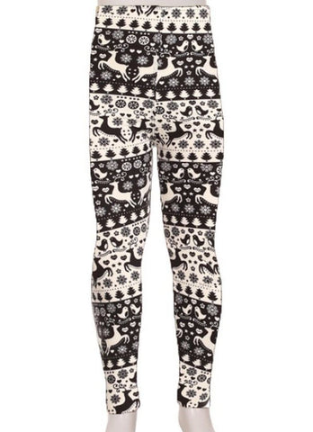 Girls Printed Leggings