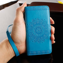 Retro Leather Wallet Phone Cases For Iphone 6 6s 7 Plus SE 5 5s Cover Vintage Paisley Flower Mandala Henna Floral Flip Stand Hot