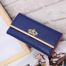 Xiniu 2017 Women Clutch Imperial Crown Long Purse Wallet carteras mujer Card Holder Bag sacoche homme #GHYW