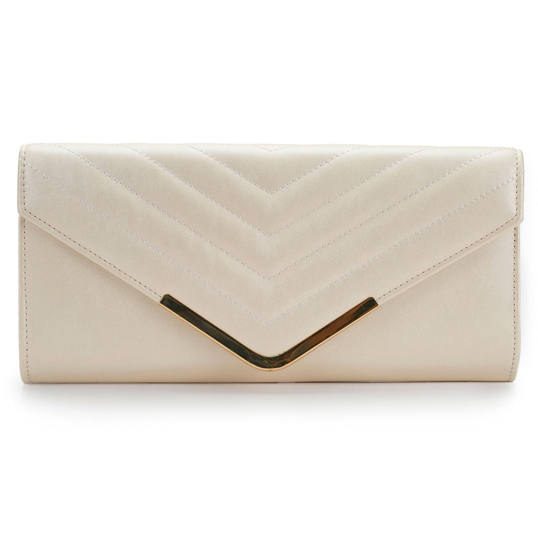 ECOSUSI Women's Evening Clutch Shoulder Bag Ladies Wedding Bag Purse