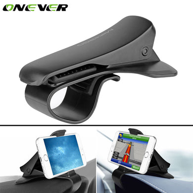 Onever Car Dashboard Mobile Phone GPS Holder Clip Stand Universal Adjustable Anti-slip GPS Bracket Mount For Mobile Phone GPS