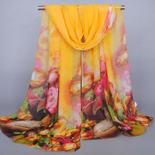 Sobretudo feminino Fashion Women Long Soft Wrap scarf Ladies Shawl Chiffon Scarves luxury brand from india