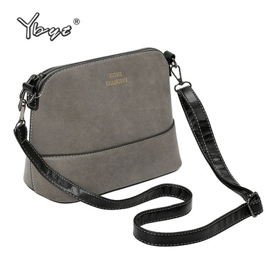 YBYT brand 2018 new shell casual hard women satchel PU leather ladies evening bag small clutch shoulder messenger crossbody bags