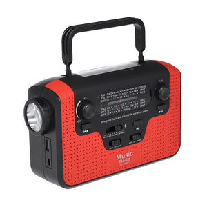 RD388 Solar Energy Radio Bluetooth Music Speaker