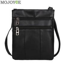 Women Messenger Bags PU Leather Handbags Zipper Solid Women Famous Brands Shoudler Bag 2018 Crossbody Bags for Women Clutch Bags