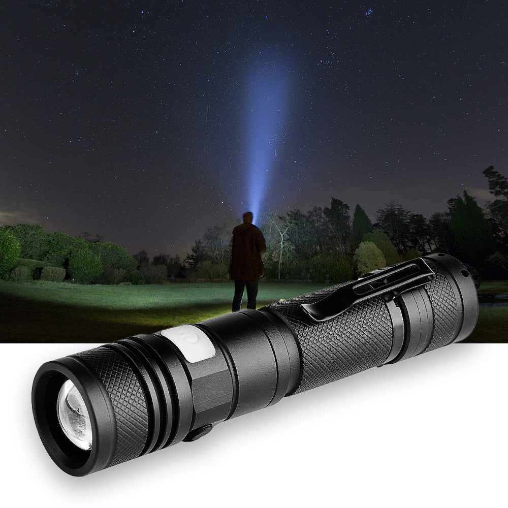 USB Rechargeable LED Flash Light
