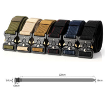 Tactical Belt Safety Emergency Waist Men Tactical Belts Nylon