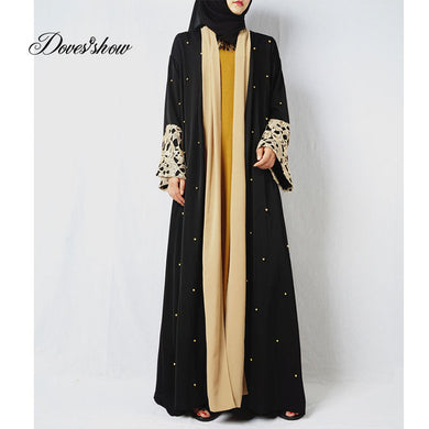 Fashion Muslim Dress Abaya in Dubai Islamic Clothing For Women Jilbab Djellaba Robe Musulmane Turkish Baju Robe Kimono Kaftan 12