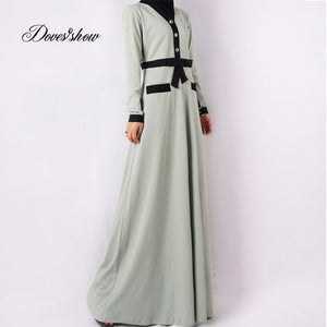 Fashion Muslim Dress Abaya in Dubai Islamic Clothing For Women Jilbab Djellaba Robe Musulmane Turkish Baju daewoo nexia EID