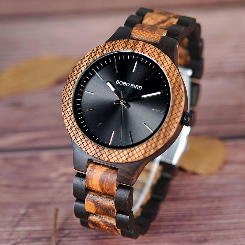 black virago leafwoods womens c watch theleafwood natural wrist sandalwood wood recycled watches products the leafwood brown