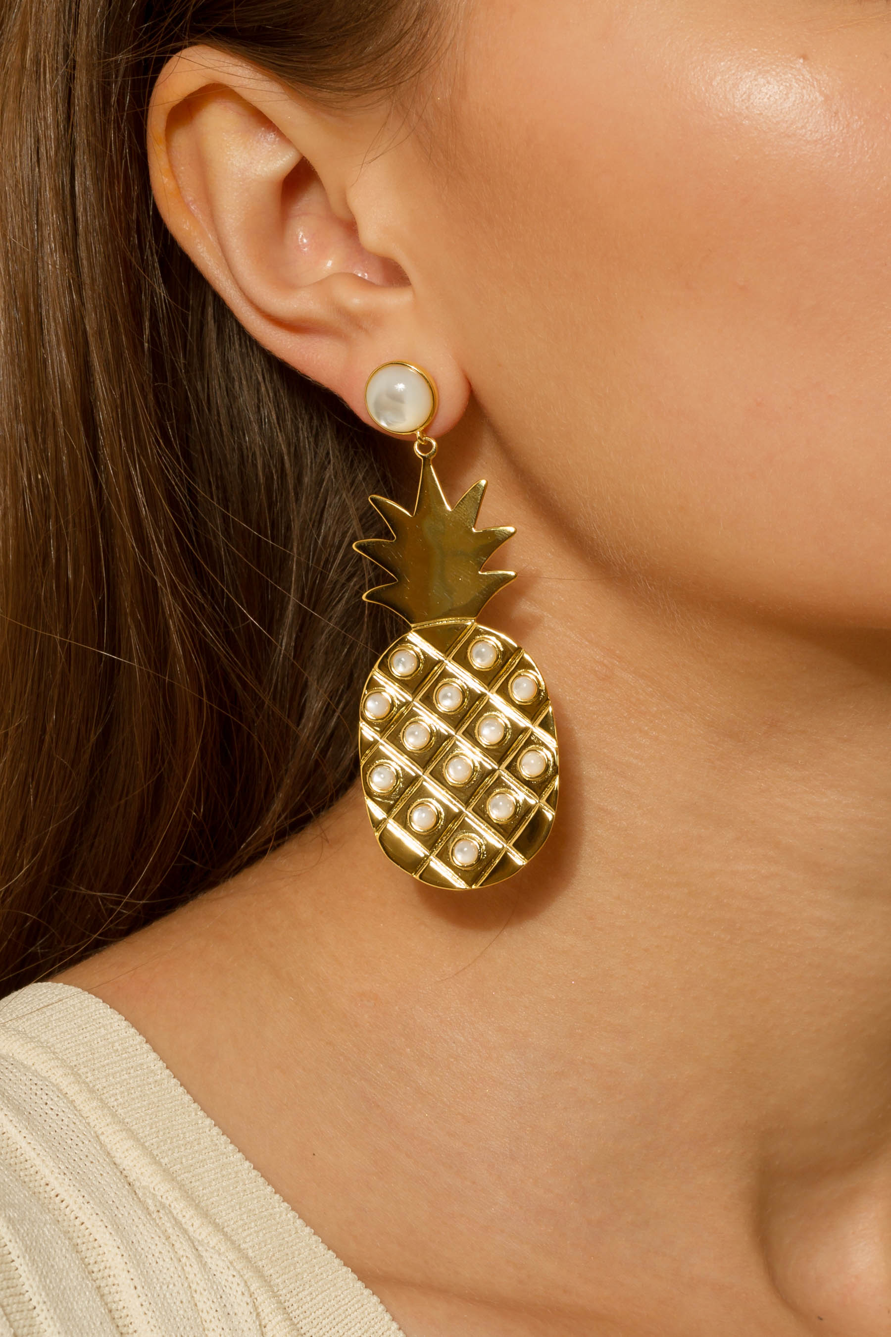 Piña Earrings
