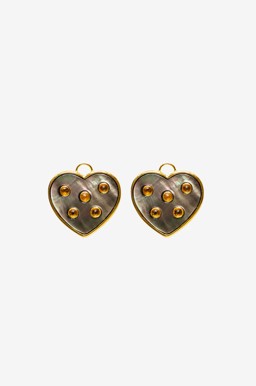 Hippie Hearts in Onyx