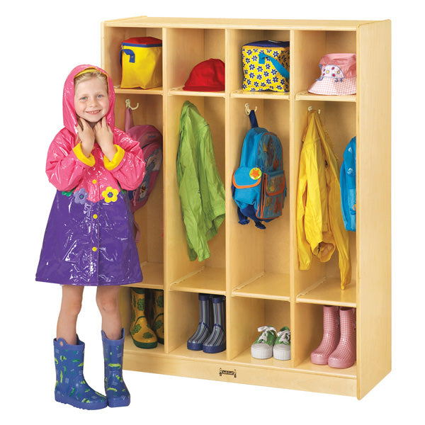 Jonti Craft 4 Section Coat Locker