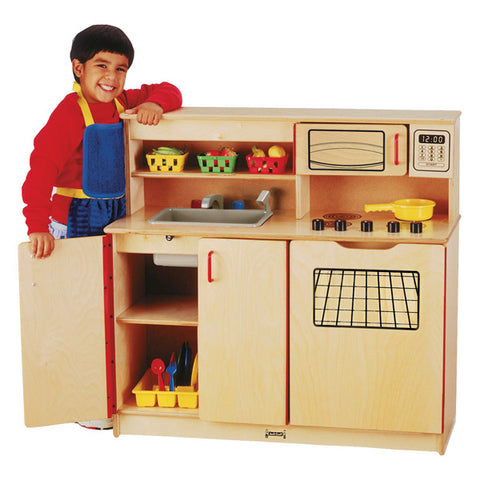 Jonti Craft 4-in-1 Kitchen Activity Center