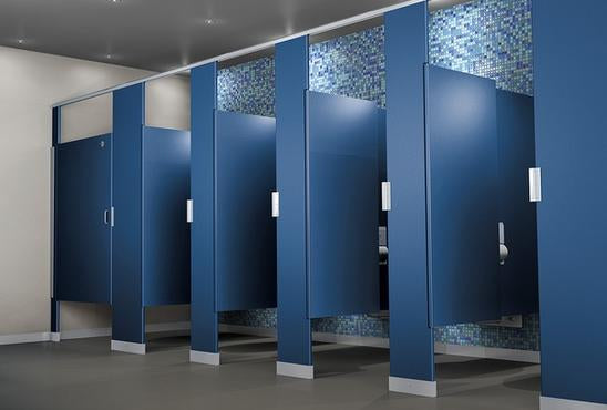 Toilet Partition Systems (Custom Pricing)