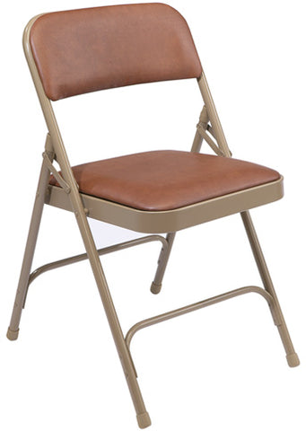 1200 Series Vinyl Upholstered Premium Folding Chair