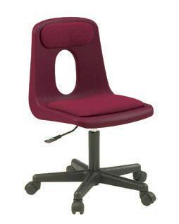 Classic Seating Series Traditional School Chair - Adjustable Height Computer Chair (no pads)