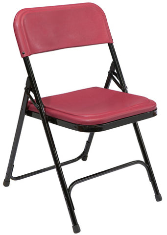 800 Series Premium Lightweight Plastic Folding Chair