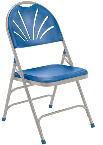1100 Series - Polyfold Fan Back Chair Triple Brace Double Hinge