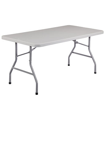 BT3000 Series Blow Molded Folding Table - Rectangular