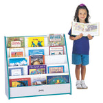 Jonti Craft Rainbow Accents Flushback Pick-a-Book Stand