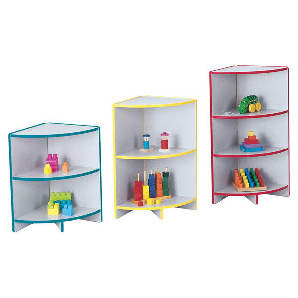 Jonti Craft Rainbow Accents Low Outside Corner Storage