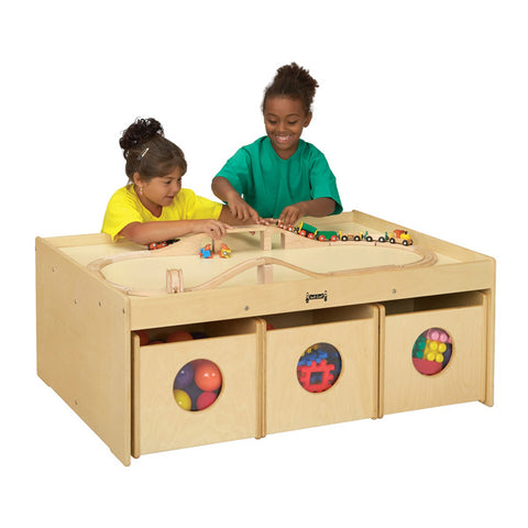 Jonti Craft Activity Table with 6 Bins
