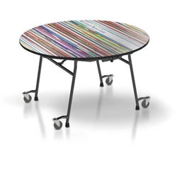 22M Round Mobile Table