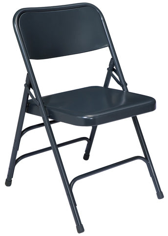 300 Series - Premium All Steel Triple Brace Double Hinge Folding Chair