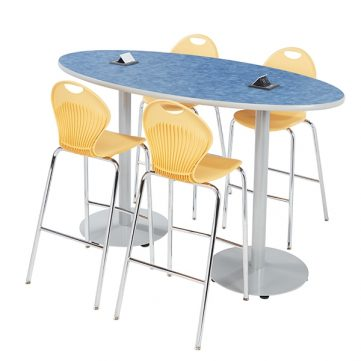 Boost Series Cafe Table - Oval