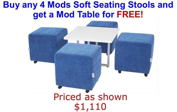 Soft Seating Promotion for square arc mods