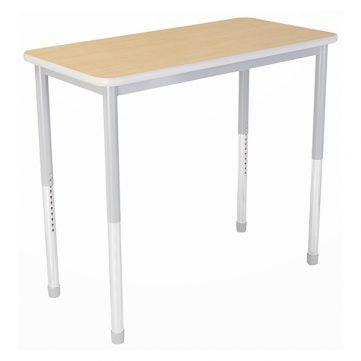 "Dura Series Fully Welded Tables - Rectangular 36""w Standing Adjustable Height"
